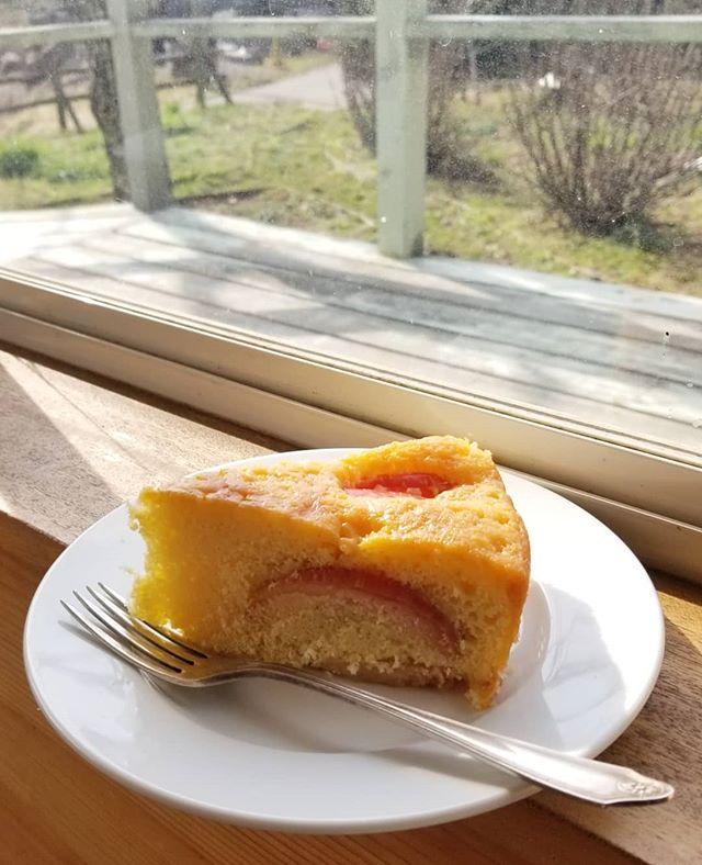 安曇野りんごピンクレディのバターケーキ #八ヶ岳めぐる庭の菓子売り場 #ひなぎくきつね #
