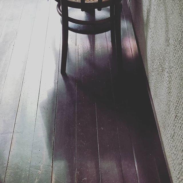 朝9時ごろ 東窓から差し込む光に ときどき「あ!」と動けなくなります。緑と紫に見えるのはなぜかしらと 消えるまで眺めながら #ひなぎくきつね #菓子と花と光と影と #lightandshadowcafe