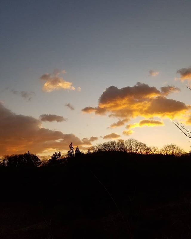 2019年最後の満月 の日の朝空順に東:小淵沢~富士山方向 南:甲斐駒ヶ岳方向 北:八ヶ岳 一年をありがとう #八ヶ岳の空機嫌 #ひなぎくきつね